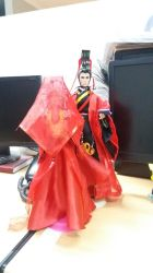 Emperor Qin Shi Huang and Empress Gianna Torrisi by seawaterwitch