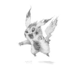 Pickachu is going mad! by MBKKR