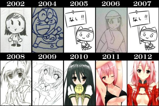 11years art summary. by ppshex