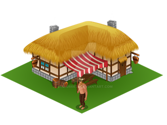 Isometric Tavern by manu666tb