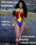 Wonder Woman AR ver costume for V4 and A4 by Terrymcg