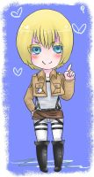 Armin Arlert the Cutie by Quite-Lovely-Puzzles