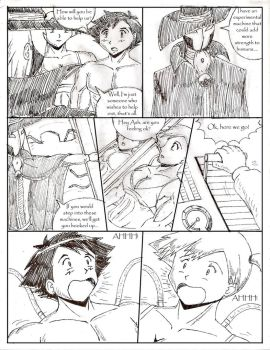 Ash and Misty Growth Pg 4 by GrandMasterLucilious