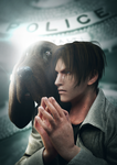 Leon 1.5 with dog by Taitiii
