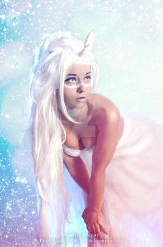 the Last Unicorn inspired 2 by ZombaeCosplay