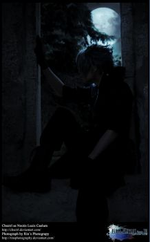 Noctis Staring at the Moon by Chsctrl