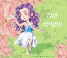 {Art Trade} ~ The Nymph by CrystalMoola
