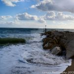 Southbourne Rocks by Lunapic