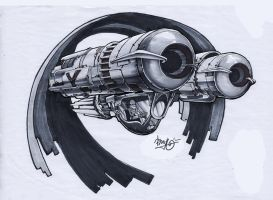 spaceship marker render 9 by maorenc