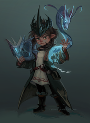 FFXIV Commission by rain-ee