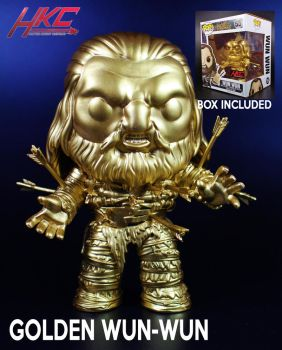 Funko Pop Golden Wun Wun Figure By Hunter Knight by hunterknightcustoms