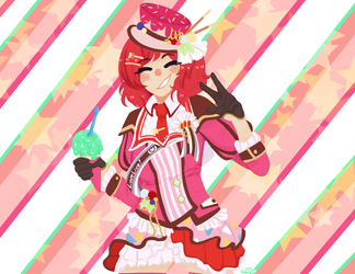 ice cream maki by Sierracat7807