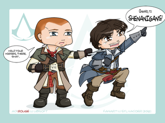 AC: Rogue - Shenanigans! by sylvacoer