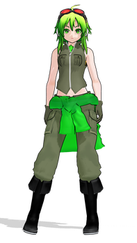 WIP - Love Is War GUMI - (100 Watchers Gift!) by Rayne-Ray