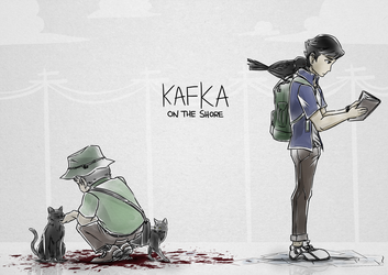Kafka on the shore by Oneirio