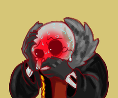 Aftermath of Underfell Sans 28 by AskTheSanses