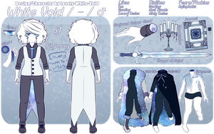 White Void Reference Sheet by Forest-Ghosts