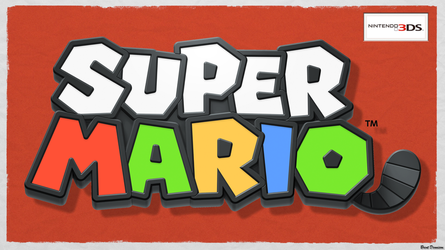 Super Mario 3DS New Wallpaper by BrentDennison