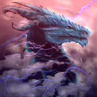 Above the thunder heads by ChroniclerEnigma