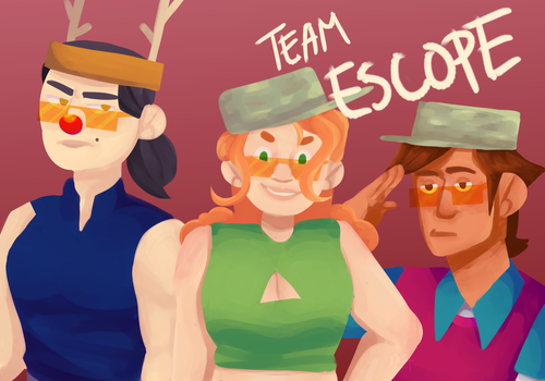 Team Escope Baby by ghosttolstoy