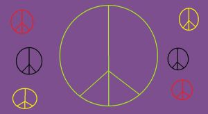 Peace signs by Eco-hugging-hippie