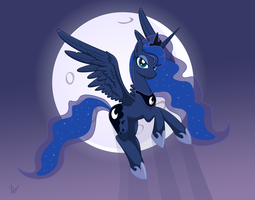 Princess Luna by Isegrim87