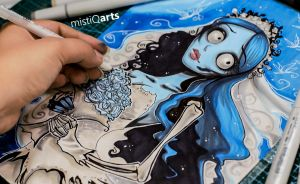 Emilie, the Corpse Bride by Mistiqarts