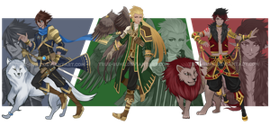 [CLOSED] Adopt Auction - Tamer/Beastmaster 02 by True-Rune