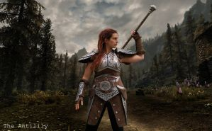 Skyrim: Steel Armour by TheAnti-Lily