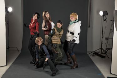 RE6 Hijinks by BleachcakeCosplay
