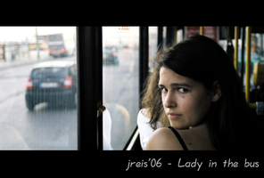 lady in the bus by jreis