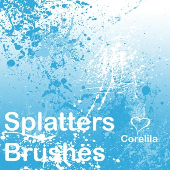 Splatter Brushes by corelila