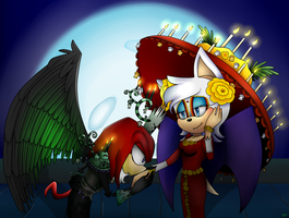 Knuxouge~ The Book of Life crossover by GottaGoBlast