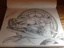 Edward Elric of Fullmetal Alchemist by media-overkill
