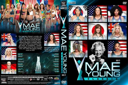 WWE Mae Young Classic 2017 DVD Cover by Chirantha