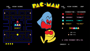 Pac-Man Wallpaper by tempest790