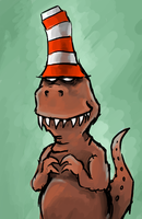 Striped Hat by gsilverfish