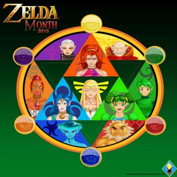 Zelda Month Nov 2015 by SuperSaiyan3Scooby