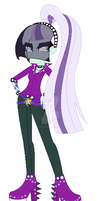 Countess Coloratura Equestria Girl by PedroLuis89