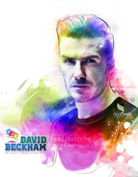 david beckham by opparudy