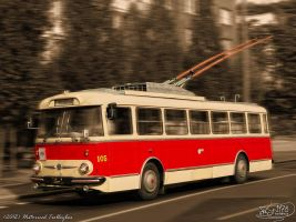 Historical Trolleybus by PaSt1978