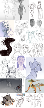Sketchdump.11 by Remarin