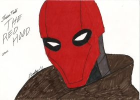 The Red Hood by mkscorpion202