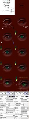 Paint tool SAI eyes tutorial by ryky