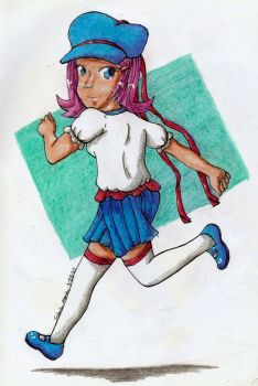 Anne for Scribbling-Mima by PlagueRat24601