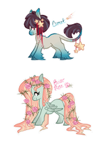 Pony Adoptables [CLOSED] by wallabean