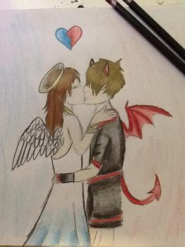 In love with the devil by Allicat1400