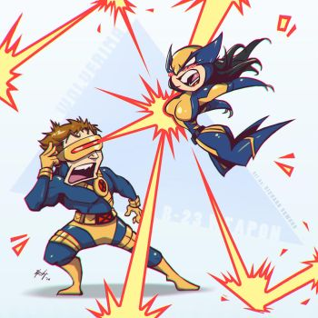 Wolverina Angry! by r-chie
