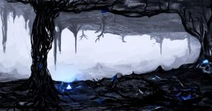 older sketch cave thing by MrAJHunter