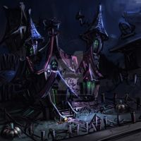 Spooky haus by coMceptArt971